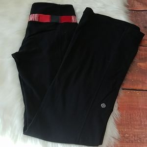Lululemon athletica reversibe pantsblack sz 4